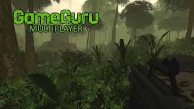 Hiding in the Bushes! New Jungle Map Gameplay  - GameGuru Multiplayer