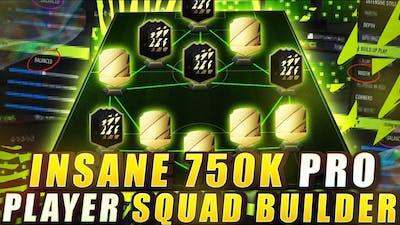 BEST FIFA 22 TEAM!! 750K COIN SQUAD BUILDER!! - FIFA 22 ULTIMATE TEAM