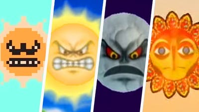 Evolution of Angry Sun in Super Mario Games (1988 - 2019)