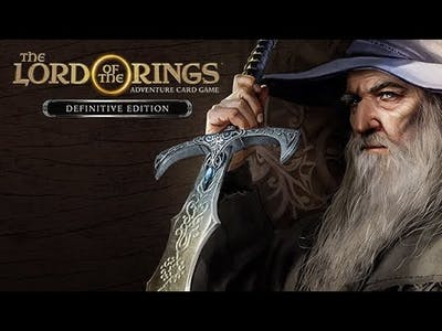 15 minute gameplay: The Lord of the Rings Adventure Card Game