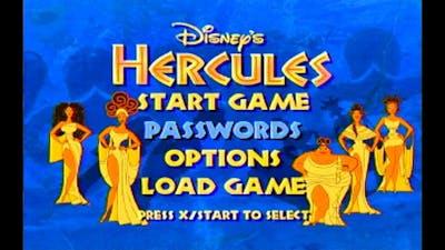 Disney's Hercules - PS1 (1997)