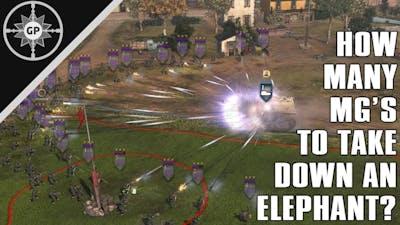 Can an MG's APR Kill an Elephant? - COH2 Challenge #7