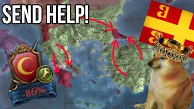 I'm a Byzantophile! Europa Universalis 4 Byzantine Mega Campaign!