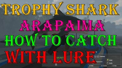 Fishing Planet - How to Catch With LURE | Trophy Shark & Arapaima