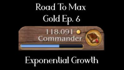 [Timelapse] Exponential Growth -  Road to Max Gold - Port Royale 3 Ep6