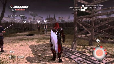 Assassin's Creed Brotherhood: French Kiss (Full Synch)