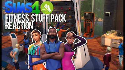 The Sims 4 Fitness Stuff Pack   Reaction