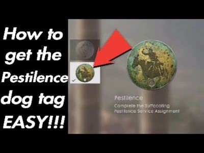 How to get pestilence dog tag EASY!!!