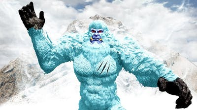 PLAYING as the SNOW YETI in GTA 5!