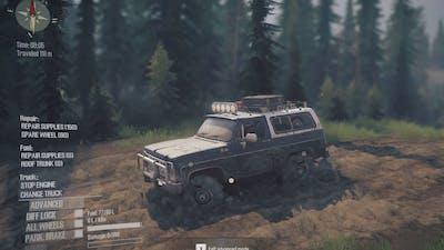 Spintires: MudRunner, game play, off road, mud mod