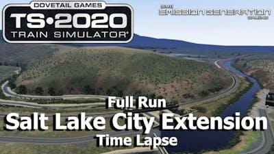 Salt Lake City Extension - Time Lapse - Train Simulator 2020