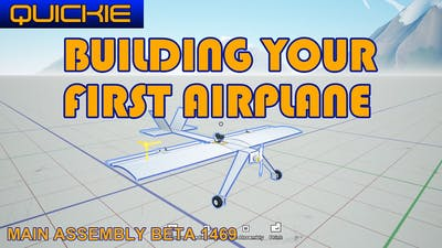 Main Assembly - How to build your first airplane