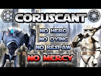 Gameplay Star Wars Battlefront II (Classic) - Coruscant