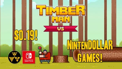 Timberman VS | NintenDOLLAR Games!
