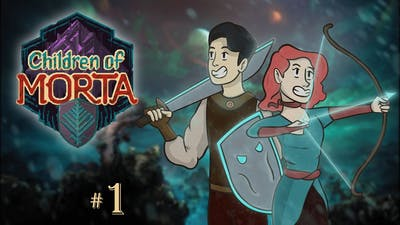 INTO THE DUNGEON! - Children of Morta #1 [Co-op Gameplay]