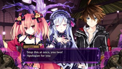 Fairy Fencer F Party.