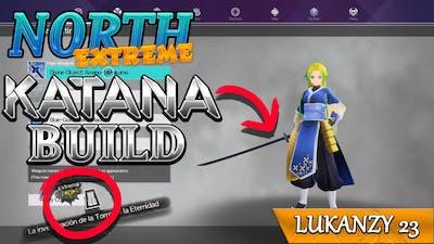 Sword Art Online Alicization Lycoris North Extreme Katana Build
