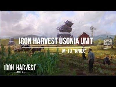 Iron Harvest Usonia Heavy Mech ''M 19 Knox''