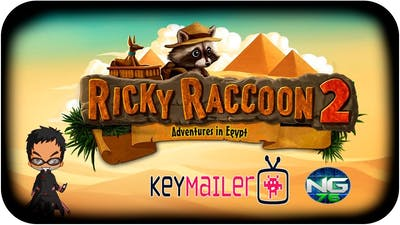 RICKY RACCOON 2 | Gameplay 2K | Español | Keymailer | #rickyraccoon2