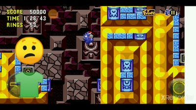 WHY IS TIDAL IS LIKE LABYRINTH?! csonic10 plays: sonic cd pt2