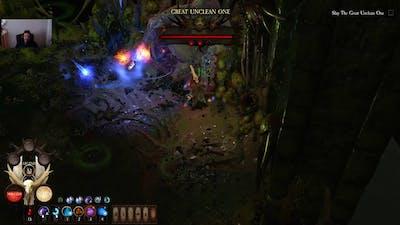 WarHammer Chaosbane Chaos 7 Tomb King's Tank Elontir BOSS RUSH attempt 2