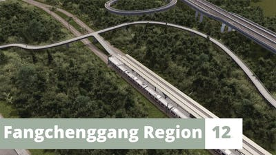 Public Transportation! | Cities Skylines | Part 11 | Fangchenggang Region | English [Eng]
