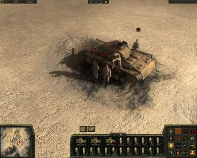 Theatre of War 2 Africa 1943 HD gameplay