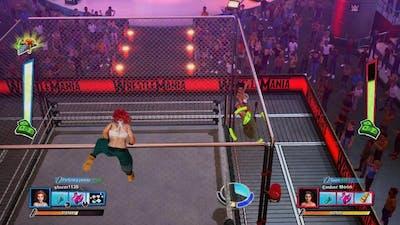 WrestleMania Jessica Johnson vs Ember Moon, WWE 2K Battlegrounds