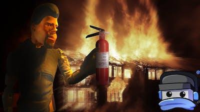 BURNING MY HOUSE DOWN - Blade & Sorcery VR