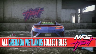 Need For Speed Heat ALL COLLECTIBLES Locations Grenada Wetlands