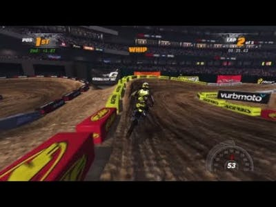 MX Vs. ATV Supercross Encore Anaheim 450cc Championship PRO