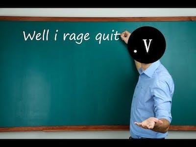 I rage quit Re-legion