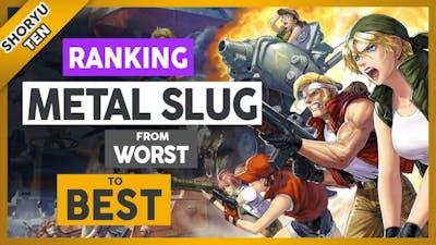 Ranking Metal Slug Games From WORST to BEST
