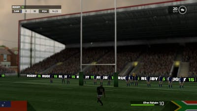 Rugby 15 - South Africa vs Samoa Rugby World Cup 2015 Pool B