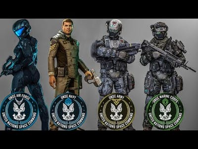 UNSC Military Branches & Ranks Explained | Halo Lore