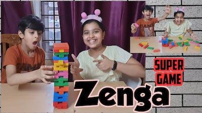 Super challenging fun game| Zenga stacking game