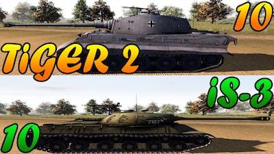 Men of War Assault Squad 2 - 10 IS-3 vs 10 Tiger 2 - Editor Scenario #43
