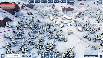 Snowtopia: Ski Resort Tycoon First Look No Commentary
