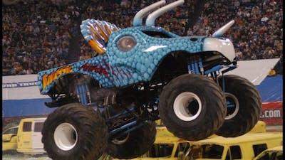 Retired Monster Trucks!!