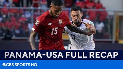 USMNT falls flat in loss to Panama [Highlights + Full Recap]   CONCACAF WCQ   CBS Sports Golazo