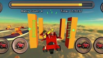 Jet Car Stunts Full Version || Platforming || Casual || Easy || Gameplay ||