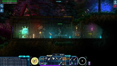 Darkout Part 2: Glowing stuff = good stuff.