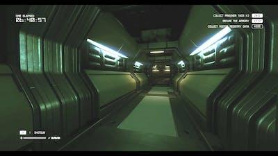 Alien Isolation: The Trigger (DLC) Damage Control (Deputy Ricardo, no flamethrower)