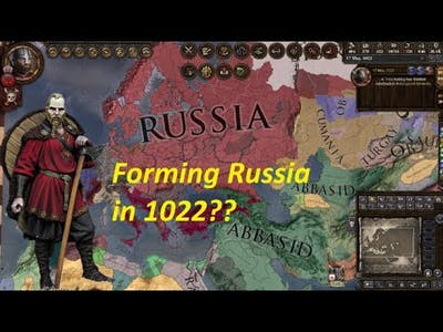 Crusader Kings 2 Holy Fury - What happens when you form Russia?