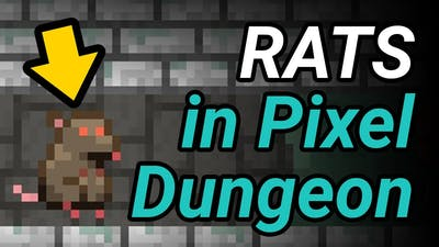 All About RATS in Pixel Dungeon (Original Version)