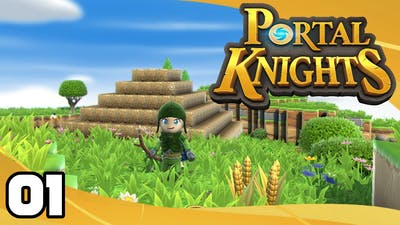 Portal Knights - Ep. 1: The First Island!   Let's Play Portal Knights