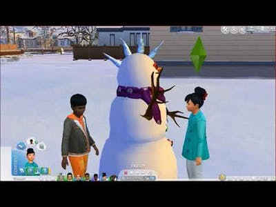 The Sims 4: Seasons - Snowpals
