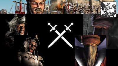 Stronghold Crusader HD - AI Tournament - Round 1: The Villain and his Lackey vs The Fanatics