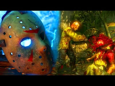 "I GOT THE SECRET JASON BRUTALITY! - Mortal Kombat X ""Jason Voorhees"" Gameplay (MKXL DLC)"