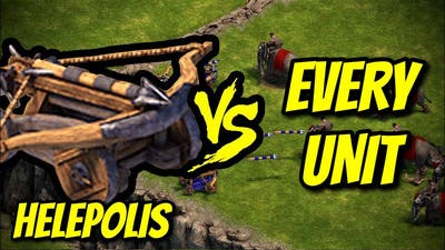 HELEPOLIS vs EVERY UNIT | Age of Empires: Definitive Edition